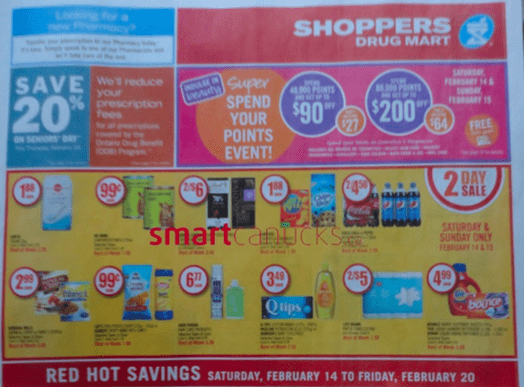 Shoppers Drug Mart Canada Valentine's Day  Shoppers Drug Mart / Pharmaprix Canada Valentines Beauty Optimum Bonus Points Redemption Event Offers!
