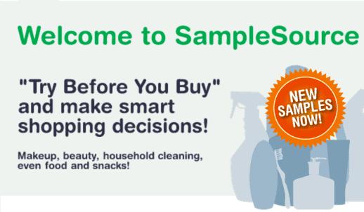 SampleSource Canada Spring Samples SampleSource Canada Spring Samples 2015 Available NOW Live