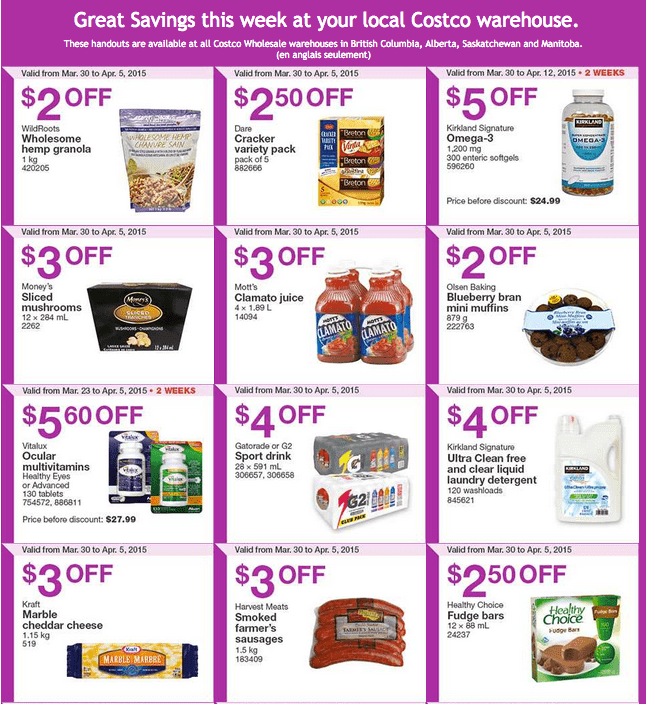 Screen Shot 2015 03 30 at 10.22.34 AM Costco Canada Weekly Instant Savings Handouts Flyers For British Columbia, Alberta, Saskatchewan & Manitoba From Monday, March 30 Until Sunday, April 5, 2015
