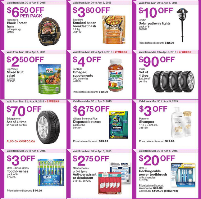 Screen Shot 2015 03 30 at 10.23.03 AM Costco Canada Weekly Instant Savings Handouts Flyers For British Columbia, Alberta, Saskatchewan & Manitoba From Monday, March 30 Until Sunday, April 5, 2015
