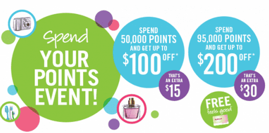 Shoppers Drug mart  Shoppers Drug Mart Canada Spend Your Points Event Offers: Bonus Points Redemption Promotion To Save Uo to $200 On March 21 22