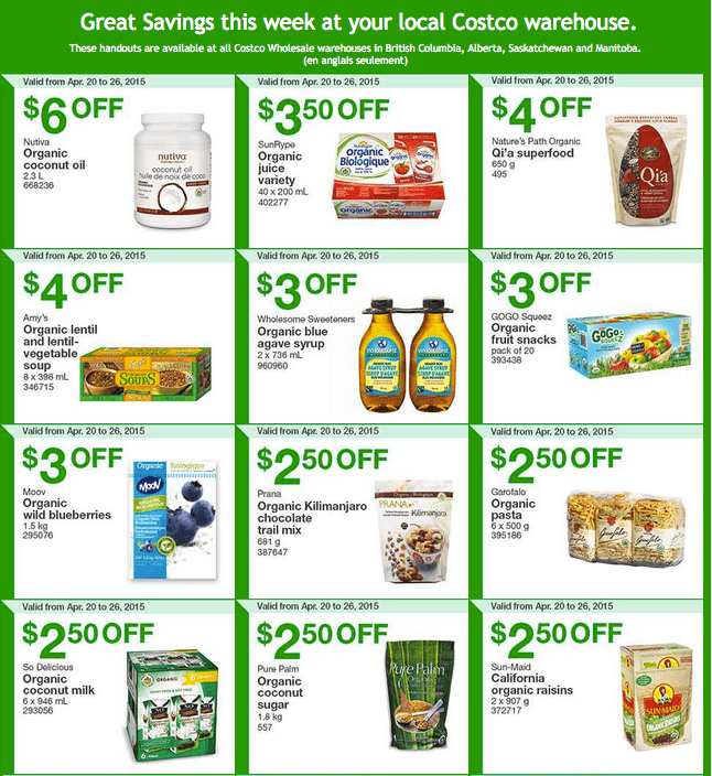 Costco West 1 Costco Canada Weekly Instant Savings Handouts Flyers For British Columbia, Alberta, Saskatchewan & Manitoba From Monday, April 20 Until Sunday, April 26, 2015