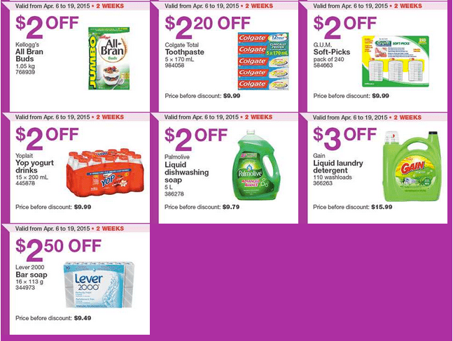 Screen Shot 2015 04 13 at 11.53.04 AM Costco Canada Handouts Coupons Flyers Instant Savings For Ontario, Quebec & Atlantic Provinces, From Monday, April 13 To Sunday, April 19, 2015