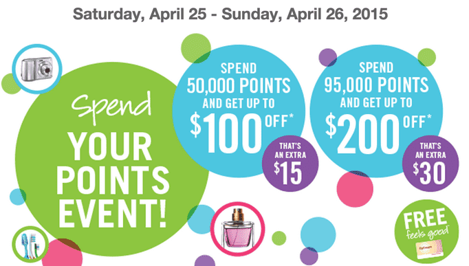Shoppers Drug Mart Redmption Shoppers Drug Mart Canada Spend Your Points Event: Get Up to $200 Worth of FREE Stuff