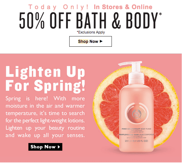 body shop canada The body shop canada 230 followers - we believe true beauty comes from the heart for us, beauty is much more than a pretty face it's about feeling good and doing .
