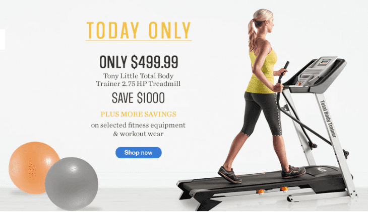 treadmill proform c970