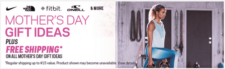 Sport Chek 730x226 Sport Chek Mothers Day Gift Ideas Plus FREE Shipping