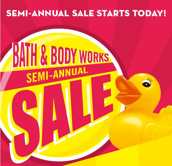 Bath and body works semi annual sale dates 2016 on Pinterest | Bath ...