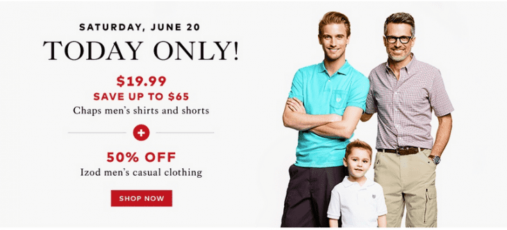 hudsons bay canada todays offers save 76 on chaps men