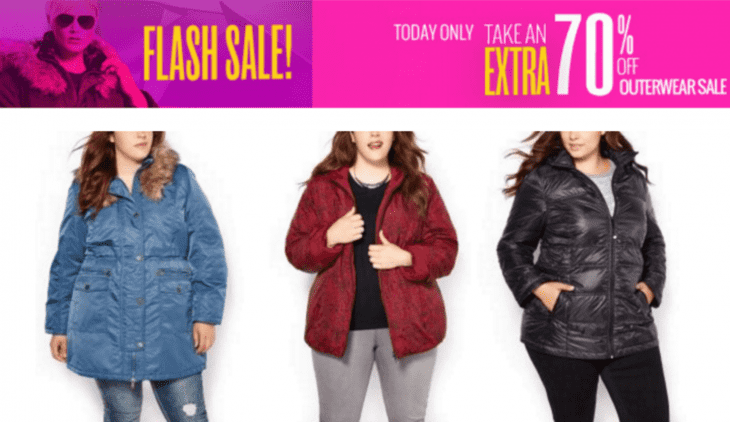 Penningtons Flash Sale