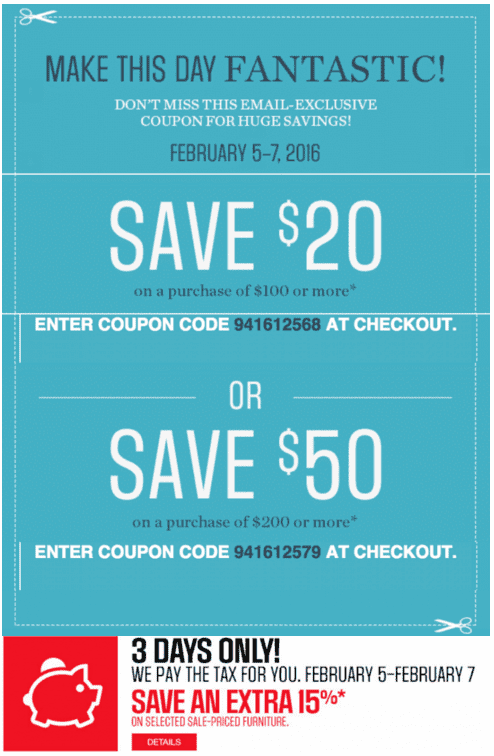 Zara coupon code feb 2018