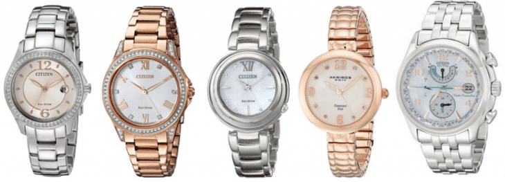 Amazon Canada Today's Deals: Save Up to 60% Off Select Citizen Women's Watches & More Deals