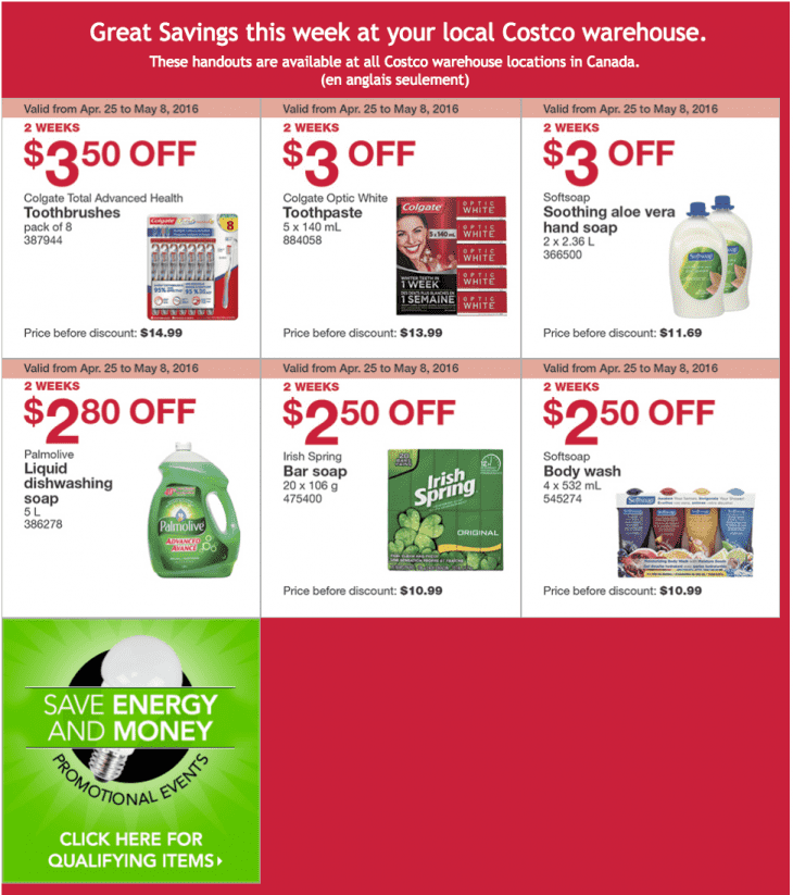 Costco Furniture Coupon: Costco Canada Weekly Instant Handouts Coupons/Flyers For