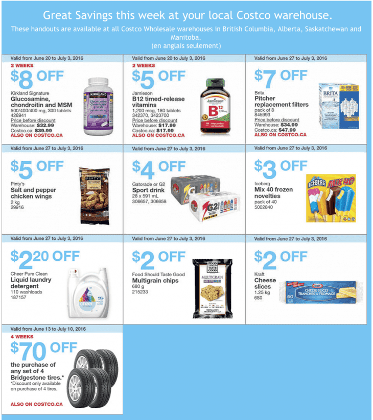 Costco Canada Weekly Instant Savings Handouts Flyers For ...