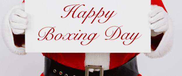 Boxing Day Canada