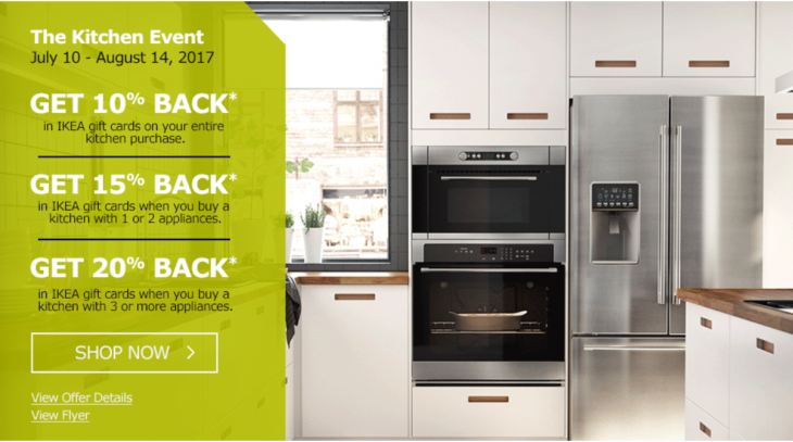 Ikea Canada Kitchen Event Get 10 To 20 Back In Ikea