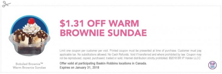 Baskin robbins discount coupons india