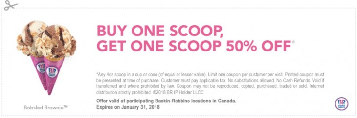 Scoop and save coupons