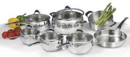 Sears Lagostina Gastronomica 12 Piece Cookware Set