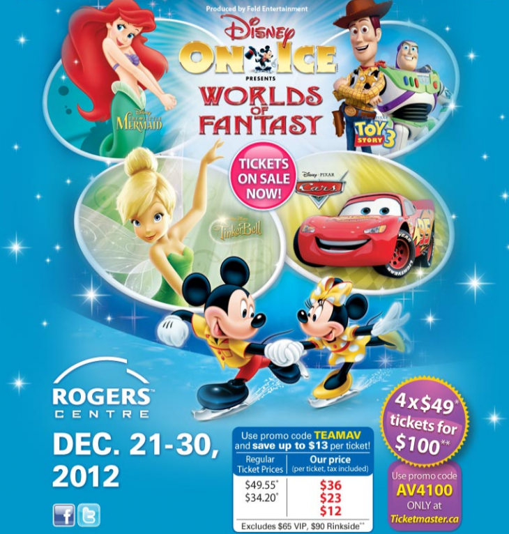 Disney On Ice RogersCentre