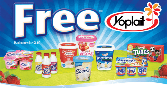 Free Yoplait Yogurt with Cereal Purchase