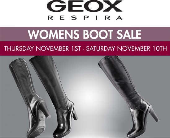 Geox Womens Boot Sale