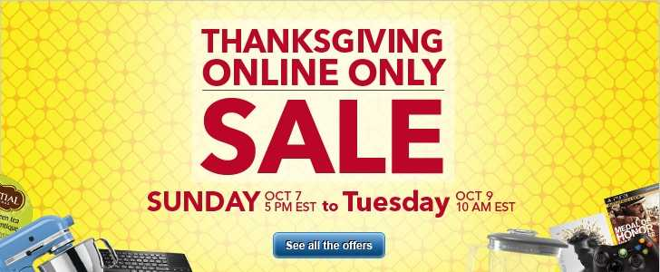 Best Buy Thanksgiving Sale