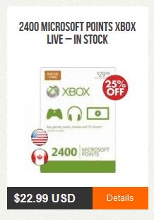 CrazyGameTime Microsoft Points Xbox Live