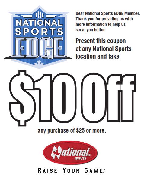 National Sports Coupon