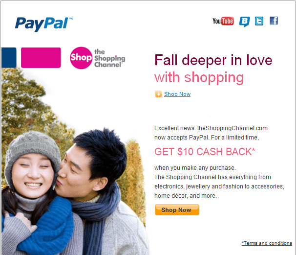 Paypal Shopping Channel