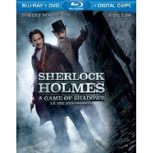 Sherlock Holmes Blu-ray cover
