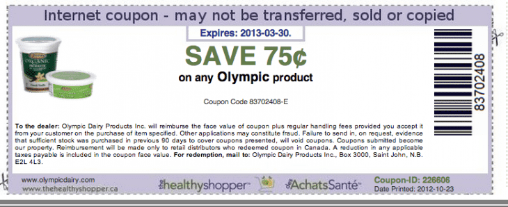 graphic regarding Printable Olympic Schedule identify Preserve 75 Cents off any Olympic Substance Printable Coupon - Scorching