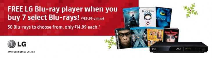 Future Shop LG Blu-ray player