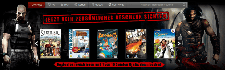 Mcgame Free PC games