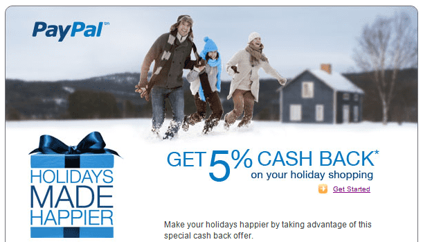 Paypal Holiday Offer