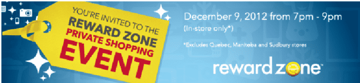 Best Buy Private Shopping Event