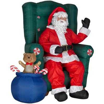 Home Depot Santa