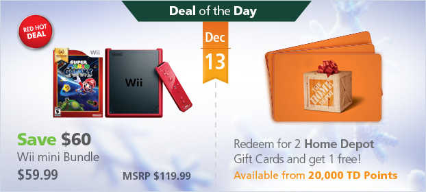 TD Rewards Red Hot Deal of the Day