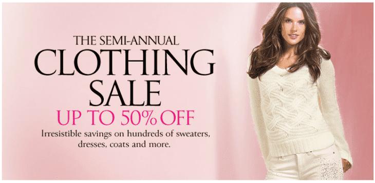Victoria Secret Semi Annual Sale