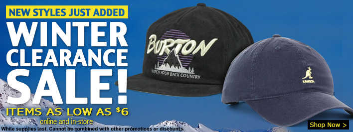 Lids Winter Clearance