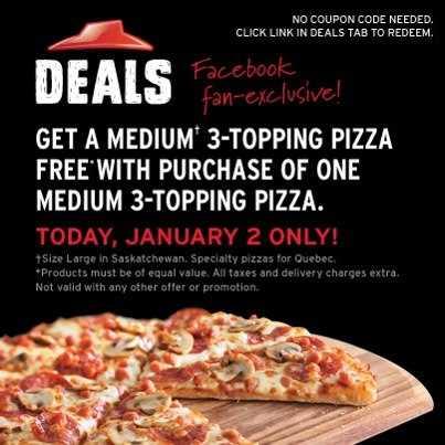 pizzahut ca deals