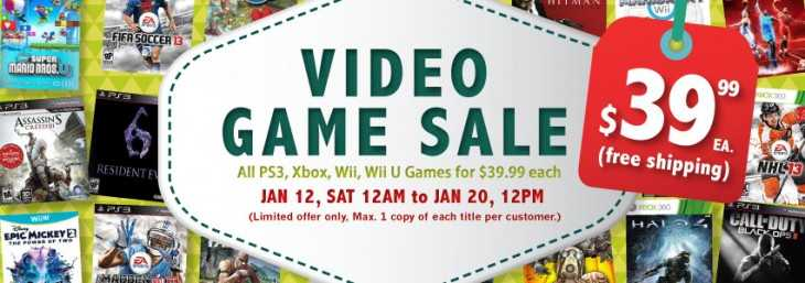 SIG Electronics Video Game Sale