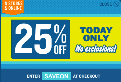 5e71da016 Old Navy Coupon Code: Save 25% Off In-Store & Online. - Hot Canada ...