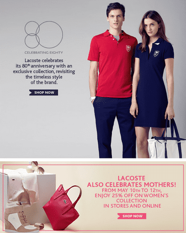 Shop for and buy lacoste outlet online at Macy's. Find lacoste outlet at Macy's.