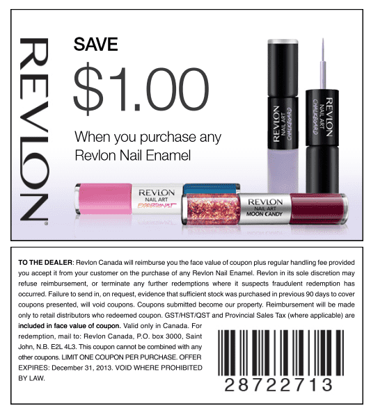 image relating to Revlon Printable Coupon identify Website page 379 of 471 - Canadian Discounts, Discount coupons, Price savings, Product sales