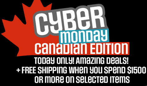 Cyber monday deals sears canada