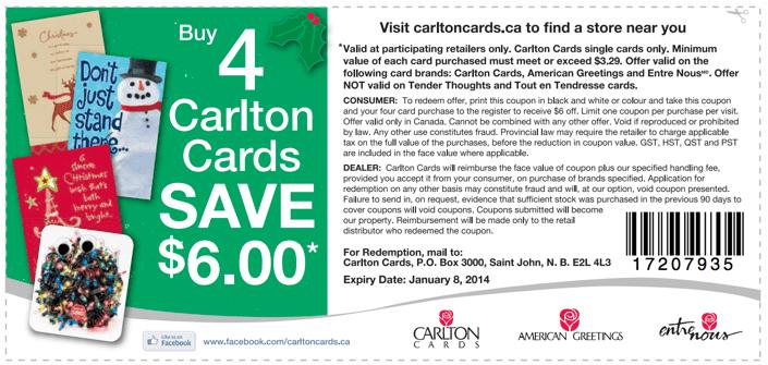 Carlton hair discount coupons