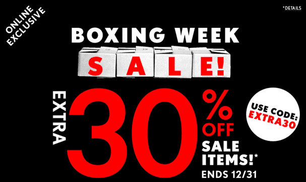 926141783f Boxing Day sale has started at Forever 21 Canada NOW! This Forever 21 boxing  day sale includes