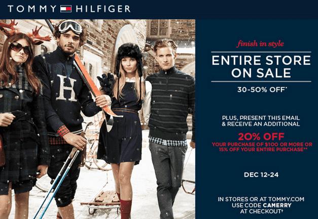 50% rabat online butik køb billigt Tommy Hilfiger Canada Holiday Entire Store Sale: Up to 50 ...