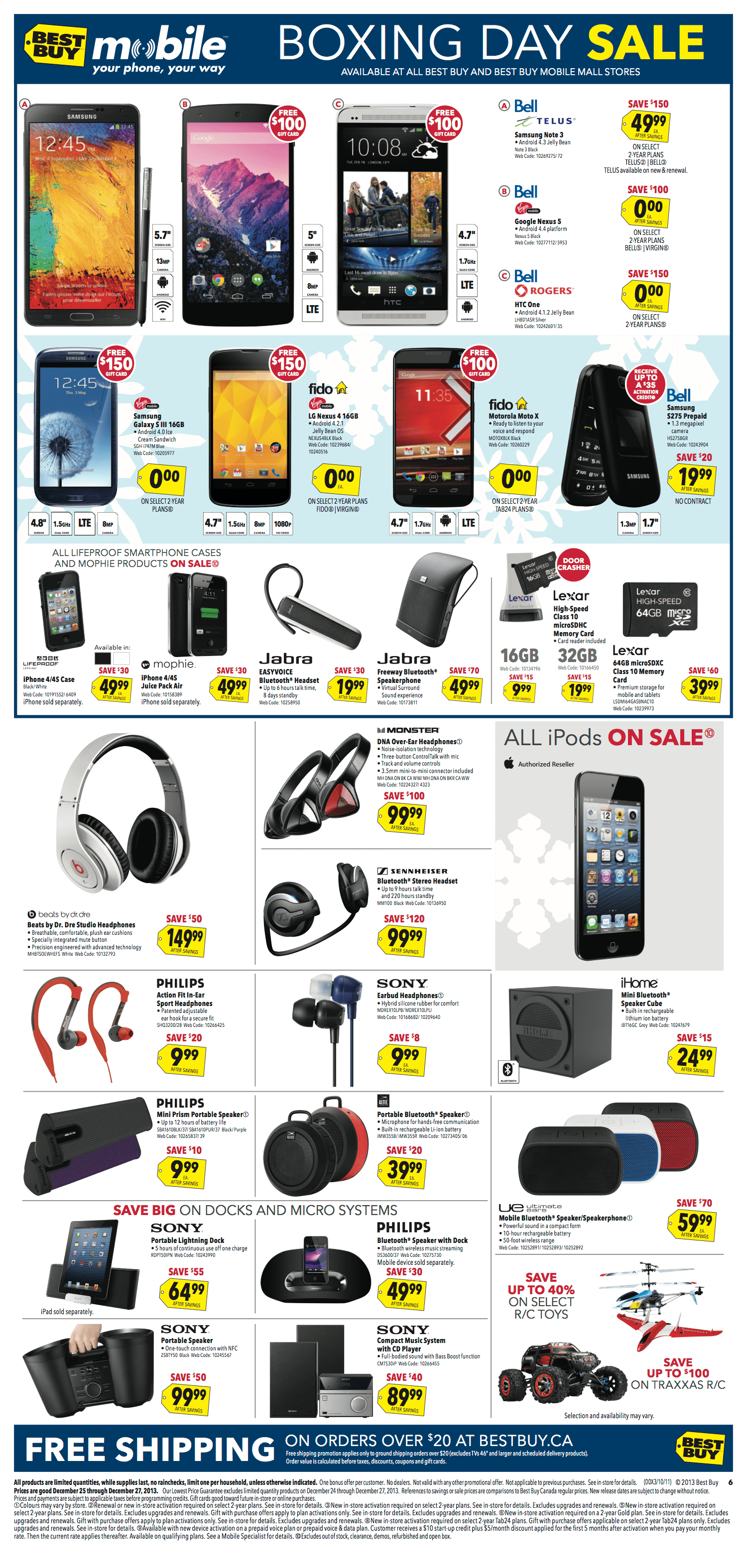 Dec 16, · Even though the flyer is 28 pages, this is a very disappointing Boxing Day at Best Buy (at least for the video games). NOTE: Some of these are only 2-day deals (Dec 26th and 27th), while some are the full week.